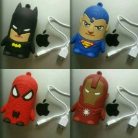 PowerBank Superhero (Batman,Superman,Spiderman,Ironman,Starwars)