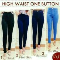 Jual High waist jeans | skinny jeans wanita | ripped jeans | jeans legging Murah