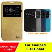 Sarung Flip Cover Case Casing Idol Coolpad F101 Soar