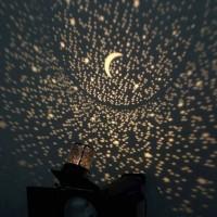 Jual Lampu Proyektor Star Master Lampu Tidur Hias Bulan Bintang Murah