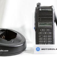 HT HANDY TALKY MOTOROLA CP 1660 / CP1660 VHF BARU ORI GARANSI RESMI