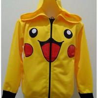 JKKD87 - Jaket Anak Yellow Pokemon Limited Edition