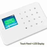 Harga wireless gsm alarm system untuk rumah ruko apartemen layar | Pembandingharga.com