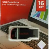 Jual Flashdisk SanDisk Cruzer Blade 16GB USB 2.0 CZ50 - GARANSI RESMI Murah