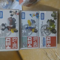 Takara Tomy Chim Chim Mickey Mouse, Donald, Monster Inc