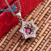 Aksesoris Kalung Perak Lapis Emas Terbaru Fairy Box - WG 285
