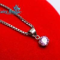 Aksesoris Kalung Perak Lapis Emas Terbaru Fairy Box - WG 272