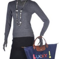 Authentic Longchamp Le Pliage Lucky MSH Limited Edition