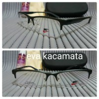 kacamata frame nike gratis lensa anti radiasi minus/clinder/plus