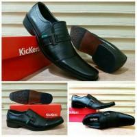 Jual Sepatu Pantofel Kickers Pria / Sepatu Kerja Kantor gesper low kulit Murah