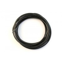 SILICON WIRE 10 GAUGE / 10 AWG BLACK (10CM)
