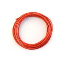 SILICON WIRE 10 GAUGE / 10 AWG RED (10CM)