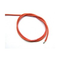 SILICON WIRE 12 GAUGE / 12 AWG RED (10cm)