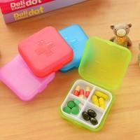 Kotak Obat Mini / Kotak Obat Saku / Kotak Perhiasan - X067