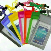 Sarung Anti Air / Waterproof Pelindung Handphone / HP Samsung Oppo Dll