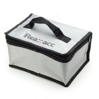 Realacc Fire Retardant Lipo Bag (220x155x115mm) With Handle