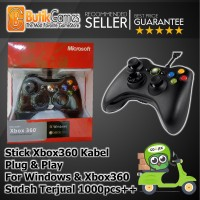 Stick Controller XBOX 360 | Stik Game Wired Kabel Cable XBOX 360