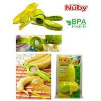 Jual [PROMO] NUBY FRUIT VEGGIE PRESS ALAT MAKAN MPASI BAYI BPA FREE Murah