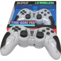 GAMEPAD / JOYSTICK WIRELESS TURBO 3IN1 (PS2 / PS3 / PC)