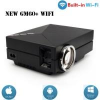 Mini projector proyektor projektor GM60 WIFI LED Projector 1000 lumens