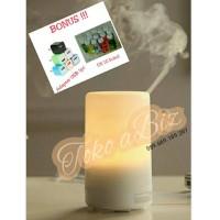 Jual Paket Lampu Aromaterapi Diffuser Humidifier Bonus EO - Silinder Murah