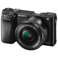 Jual Sony Alpha A6000 Mirrorless With 16-50mm Lens (Black) Murah