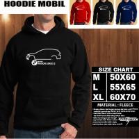 JAKET HOODIE OTOMOTIF MOBIL BMW Wagon Seri 3 SILUET 1 Hoodie/Sweater