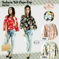 Sakura cape top