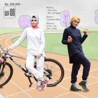Setelan Baju Olahraga Muslim Qirani Fresh QDF 08