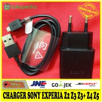harga Charger Sony Experia Z2 Z3 Z3+ Z4 Z5 Original 100% Fast Charger Uch10 Tokopedia.com