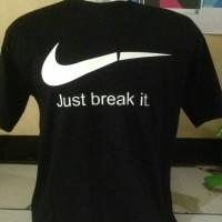 BIG SIZE XXXL... kaos/baju/t shirt NIKE just break it