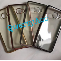 Soft Case List Chrome Samsung Galaxy C5