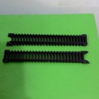 miniatur kereta api - rel lurus skala 1:87 merek Railking