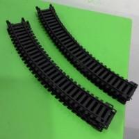 miniatur kereta api - rel lengkung skala 1:87 merek Railking