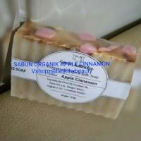 SABUN ORGANIK / APPLE CINAMON HOMEMADE NATURAL BATH SOAP 110GRAM