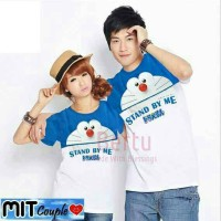 Jual Baju Couple Doraemon Stand By Me Combi | Kaos Couple Murah Murah
