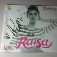 CD Album The Best Of Raisa (tanda tangan Raisa)