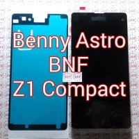 LCD + TouchScreen + Adhesive LCD, Sony Xperia Z1 Compact, Docomo
