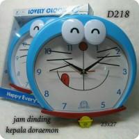 Jual jam dinding kepala Doraemon Murah