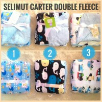 harga Selimut Carter double fleece original Tokopedia.com