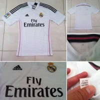 JERSEY REAL MADRID ORIGINAL HOME 2014/2015 FLY EMIRATES SIZE S BNWT