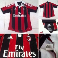 JERSEY AC MILAN ORIGINAL HOME 2012/2013 FLY EMIRATES SIZE S BNWT