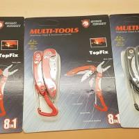 Multitool Framework Mini 8 In 1 With Carabiner / Tang Multitool