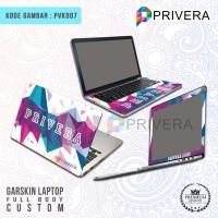 Jual Garskin Laptop/Cover Laptop/Screen Protector/PVK007-Fullbody Custom Murah