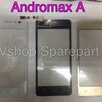Touchscreen Andromax A (A16C3H) Black/White/Gold