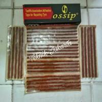 Karet tambal ban tubles motor mobil OSSIP 30 pcs Cacing