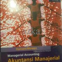 Managerial Accounting (Akuntansi Manajerial), Buku 2, Hansen/ Mowen, S