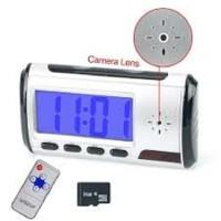 Camera Pengintai SpyCam Camera Alarm Clock Digital