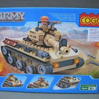 Mainan Anak lego cogo 3321 army action tank marines (ACR 101)