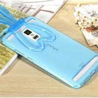 Softcase BUNNY EAR Vivo Y28 / Y51 / XPlay 3s Silicone HP Case Casing